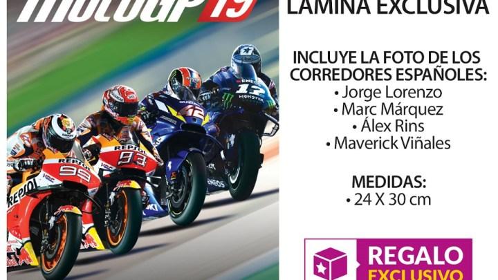Reserva MotoGP 19 en GAME y llévate una lámina exclusiva con Lorenzo, Márquez, Rins y Viñales