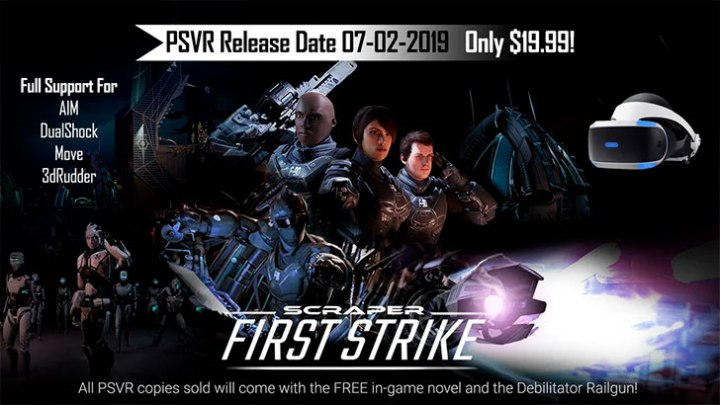 Scraper: First Strike muestra su jugabilidad en su primer gameplay
