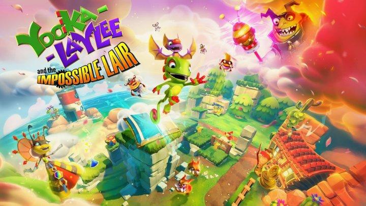 Yooka-Laylee and the Impossible Lair sigue mostrando su jugabilidad 2D en nuevos minutos de gameplay