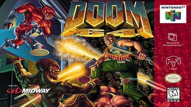 DOOM 64 confirma su lanzamiento para PS4 y PC