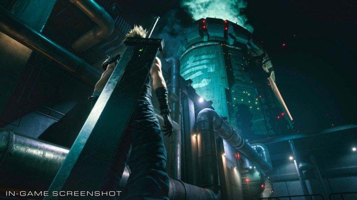Así luce el Reactor de Mako en Final Fantasy VII Remake