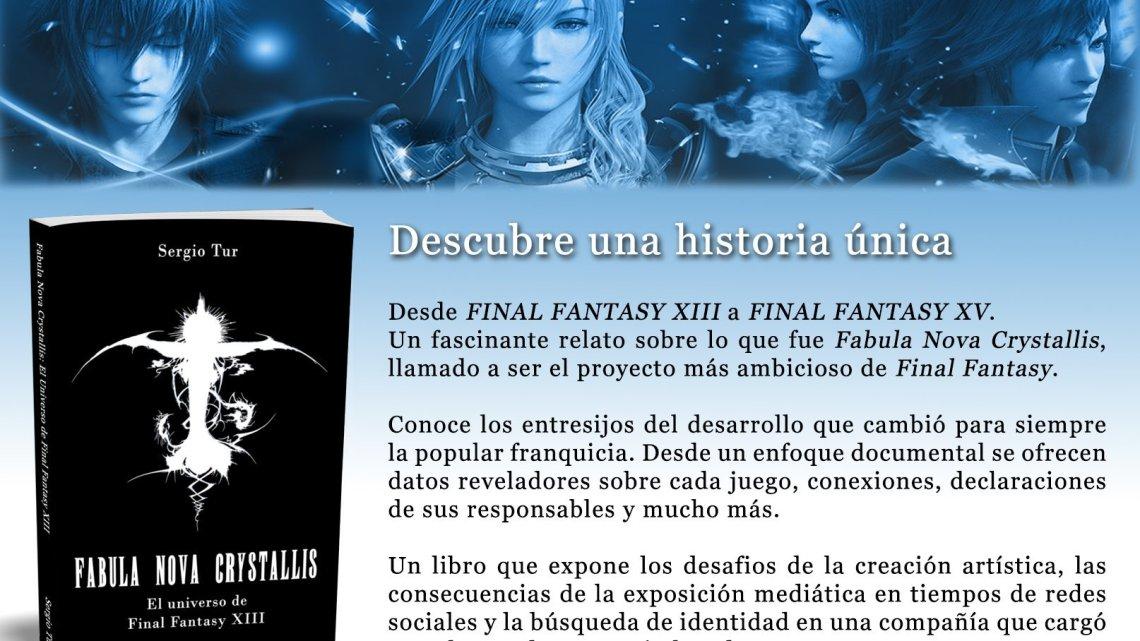 Ya a la venta Fabula Nova Crystallis: El universo de Final Fantasy XIII