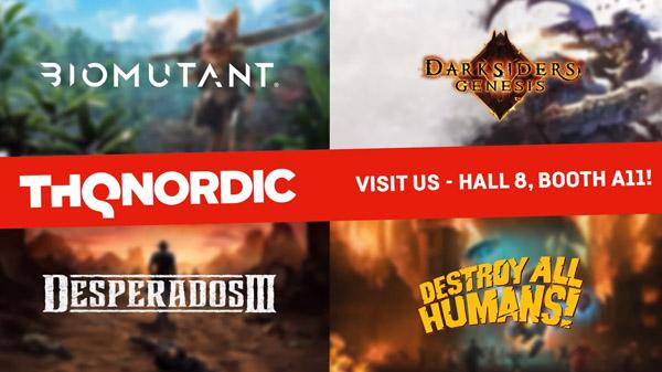 THQ Nordic anuncia su fantástico catálogo de juegos para la Gamescom 2019