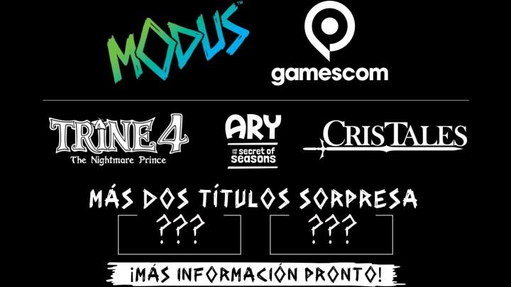 Modus Games anuncia su catálogo de juegos para la Gamescom 2019 donde anunciará dos nuevos proyectos