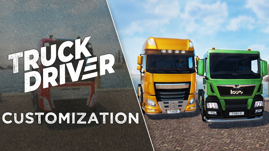 La miniserie de Truck Driver finaliza con un video sobre la personalización