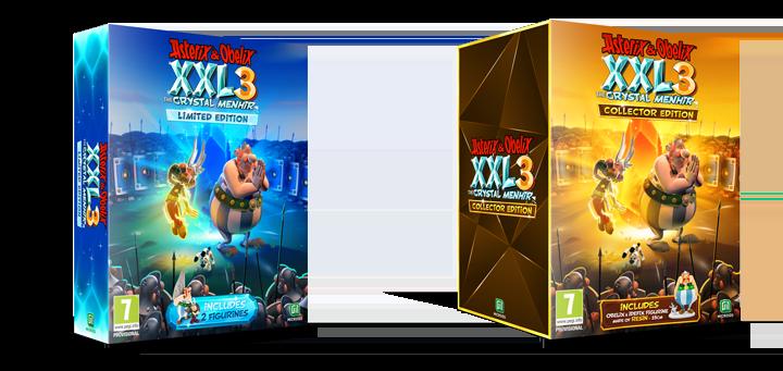 Astérix y Obélix XXL3: El Menhir de Cristal llegará el 21 de noviembre y vendrá acompañado con estas dos increíbles ediciones