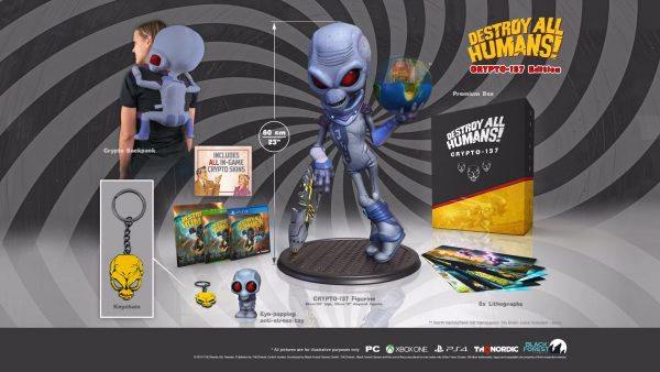 Reveladas las ediciones especiales del remake de Destroy All Humans!