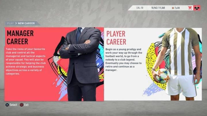 Descubre las principales novedades del Modo Carrera de FIFA 20 en este gameplay inédito