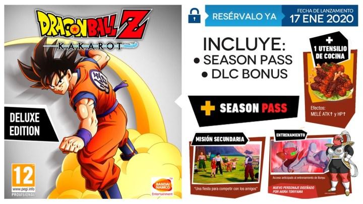 GAME anuncia los contenidos de su exclusiva 'Edición Deluxe' de Dragon Ball Z: Kakarot
