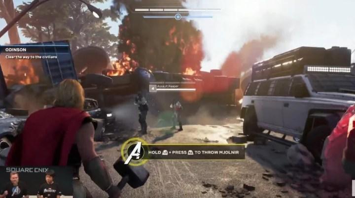 Square Enix muestra la presentación completa de Marvel's Avengers en la TGS 2019 | Primeras imágenes de la interfaz
