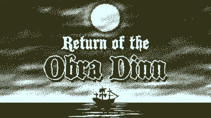 Return of the Obra Dinn, excelente título de misterio y exploración ya a la venta en PS4, Xbox One y Switch