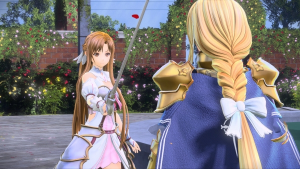 Asuna protagoniza el nuevo gameplay de Sword art Online: Alicization Lycoris