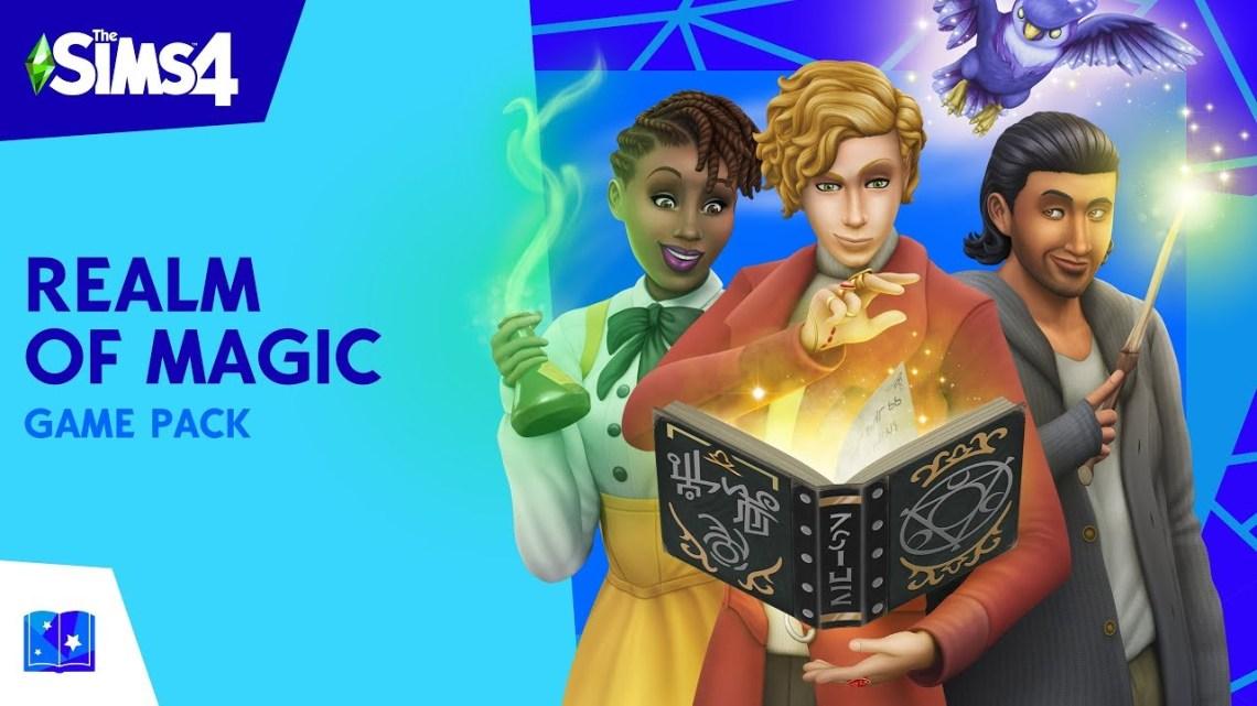 Los jugadores de Sims 4 podrán convertirse en hechicero con su nueva expansión | Descúbrelo en su primer gameplay