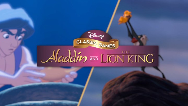 Así luce la versión final de Disney Classic Games: Aladdin and The Lion King