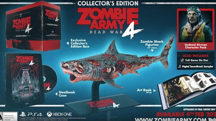 Nuevo vídeo presenta los impresionantes contenidos de la Collector's Edition de Zombie Army 4: Dead War