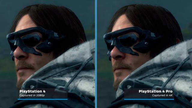 Nuevo vídeo compara los gráficos de Death Stranding en PS4 y PS4 Pro