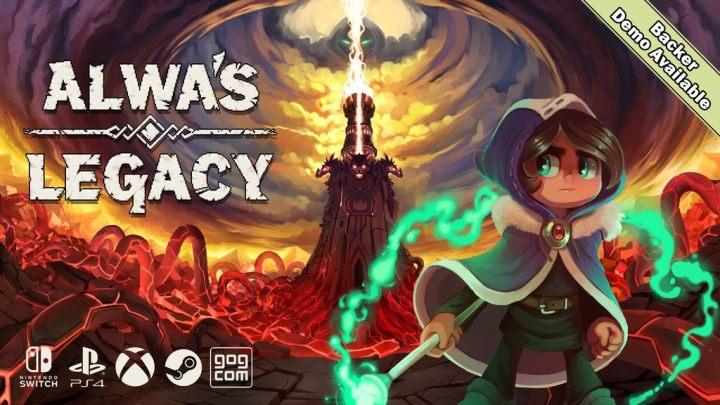 Alwa's Legacy, secuela de Alwa's Awakening, arranca campaña de financiación en Kickstarter