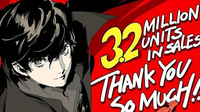 Persona 5 supera los 3,2 millones de copias vendidas, Persona 5 Royal cerca de alcanzar el medio millón