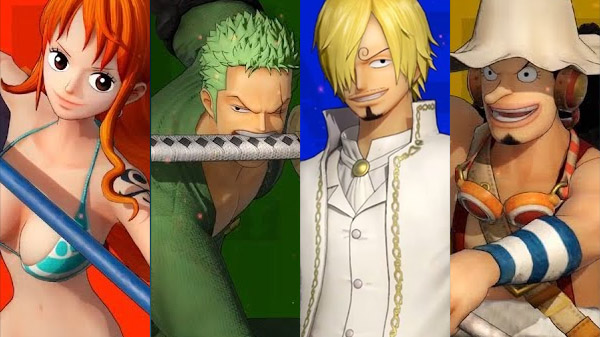 Nami, Roronoa Zoro, Sanji y Usopp protagonizan los nuevos vídeos de One Piece: Pirate Warriors 4