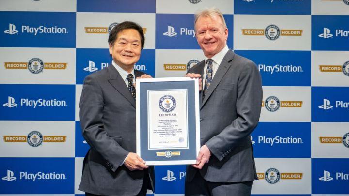PlayStation obtiene un Premio Record Guinness
