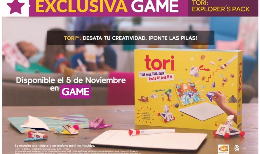 Tori Explorer Pack a tiempo para Navidades únicamente en GAME