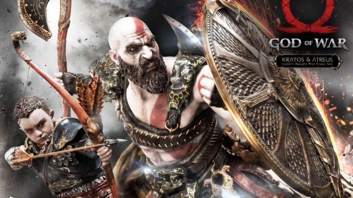 Presentada una impresionante figura de Kratos y Atreus valorada en 1200 dólares