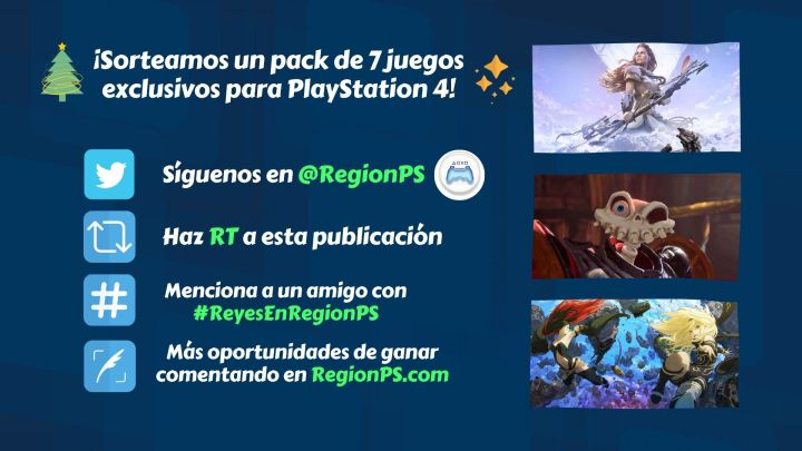 ¡Sorteamos un pack de 7 juegos exclusivos para PlayStation 4!