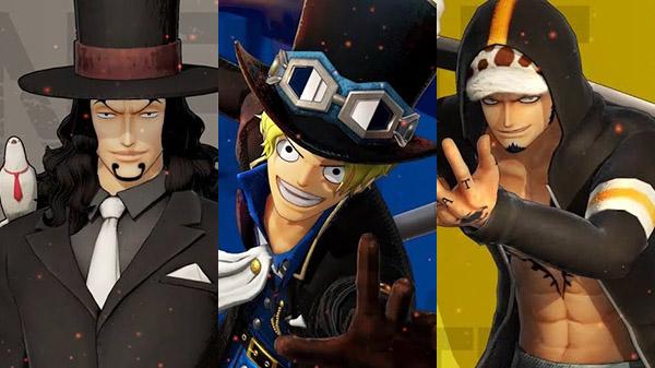 Rob Lucci, Sabo y Trafalagar Law protagonizan los nuevos vídeos de One Piece: Pirate Warriors 4