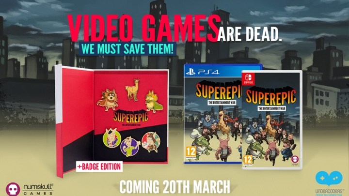 SuperEpic: Collector's Edition anuncia una edición física para PlayStation 4 y Nintendo Switch