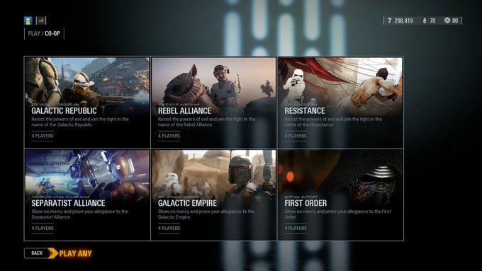 La actualización Era de Rebelión ya disponible en Star Wars Battlefront 2