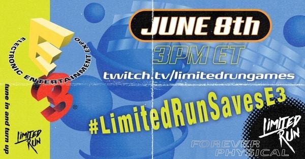 Limited Run Games confirma fecha de conferencia para el E3 2020