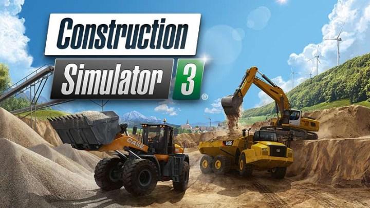 Construction Simulator 3 confirma su lanzamiento para el 7 de abril en Playstation 4