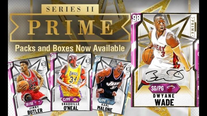 La Serie Prime II de Dwyane Wade llega a NBA 2K20