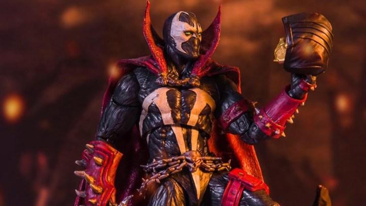 Anunciada de forma oficial una espectacular figura del nuevo Spawn para Mortal Kombat 11