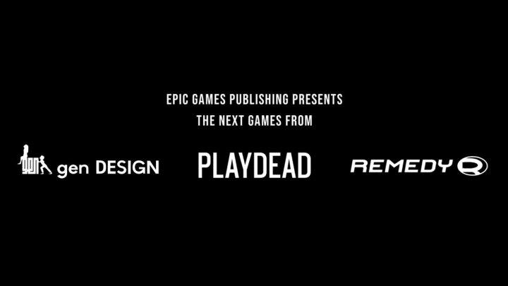 Epic Games Publishing editará próximos juegos de GenDESIGN, Playdead y Remedy