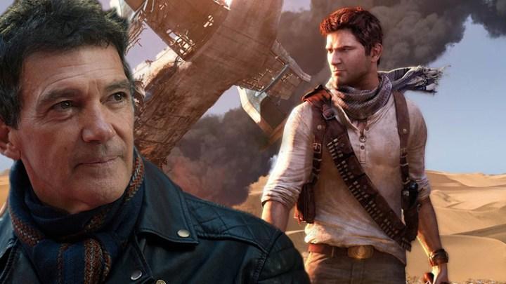 Antonio Banderas formará parte del reparto de la adaptación de Uncharted a la gran pantalla
