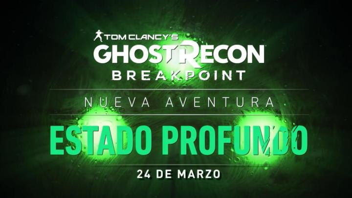 Sam Fisher de Splinter Cell regresa con el evento 'Estado Profundo' de Ghost Recon Breakpoint