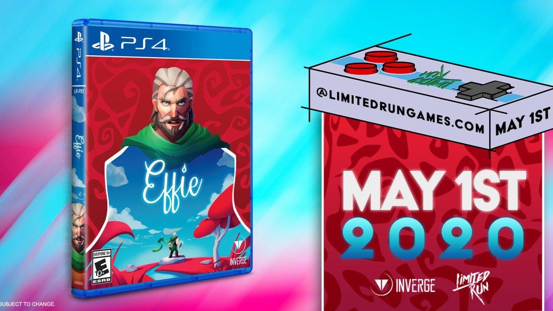 Effie, del equipo valenciano Inverge Estudios, tendrá edición física para PS4
