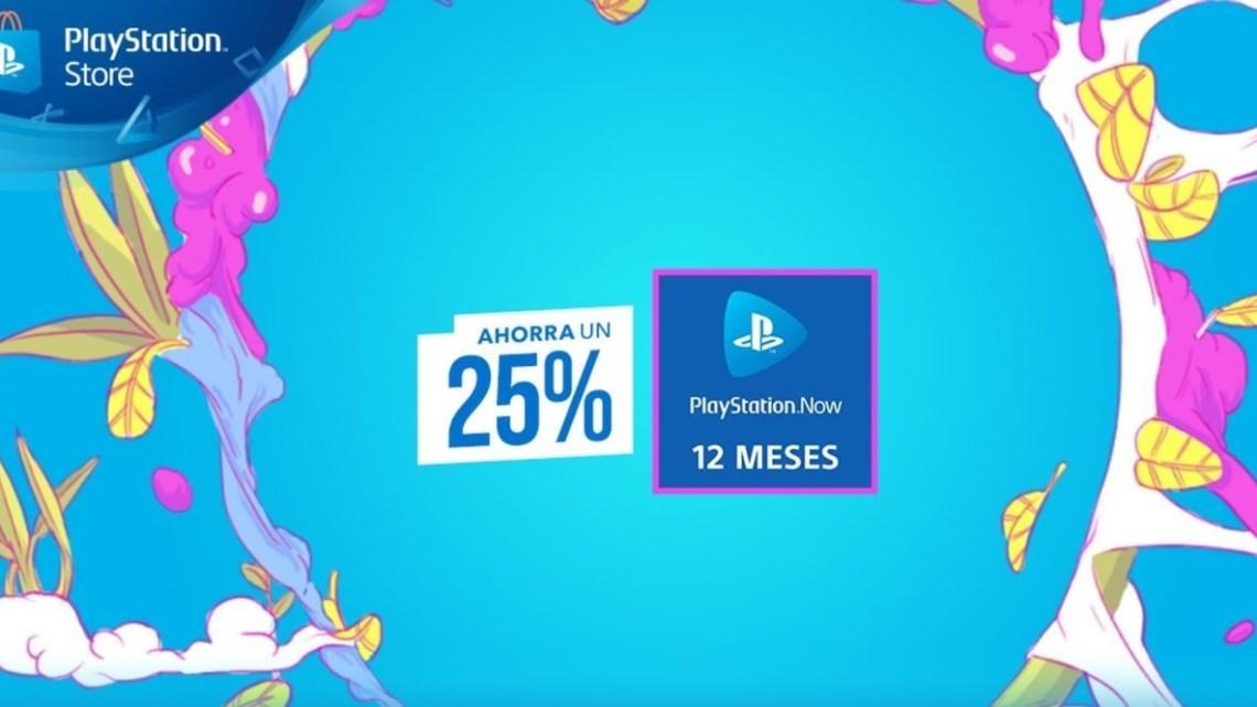 PlayStation Now rebaja un 25% el precio de la suscripción de 12 meses