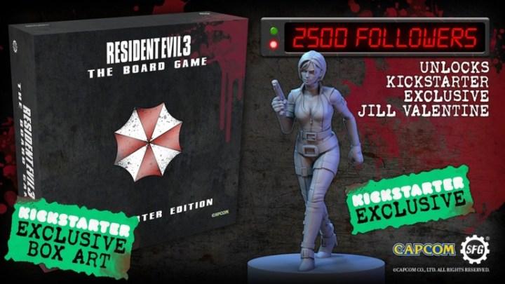 El remake de Resident Evil 3 contará con su propio juego de mesa