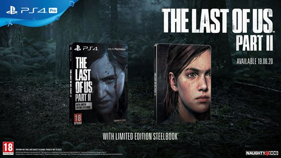 Sony muestra el diseño oficial de la steelbook de The Last of Us: Part II
