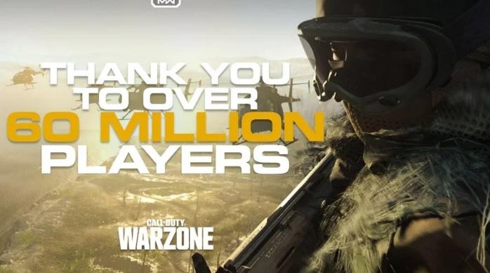 Call of Duty: Warzone supera los 60 millones de jugadores en todo el mundo