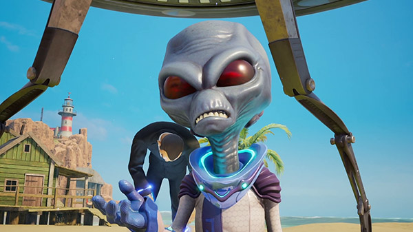 Destroy All Humans! exhibe una de sus poderosas armas en su último gameplay tráiler