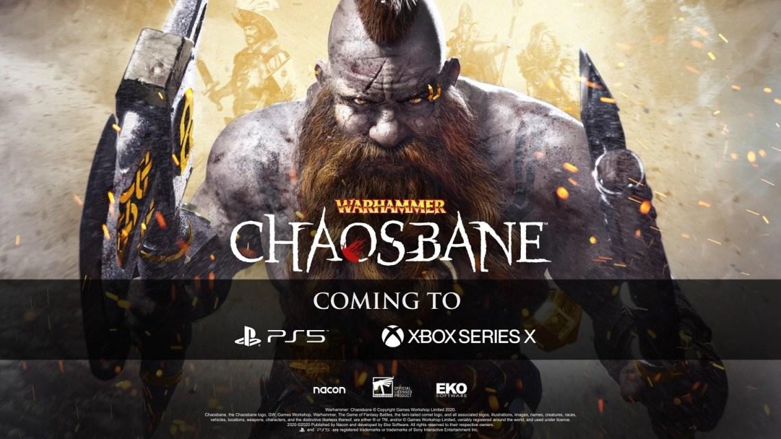 Warhammer: Chaosbane disponible de lanzamiento en consolas de nueva generación