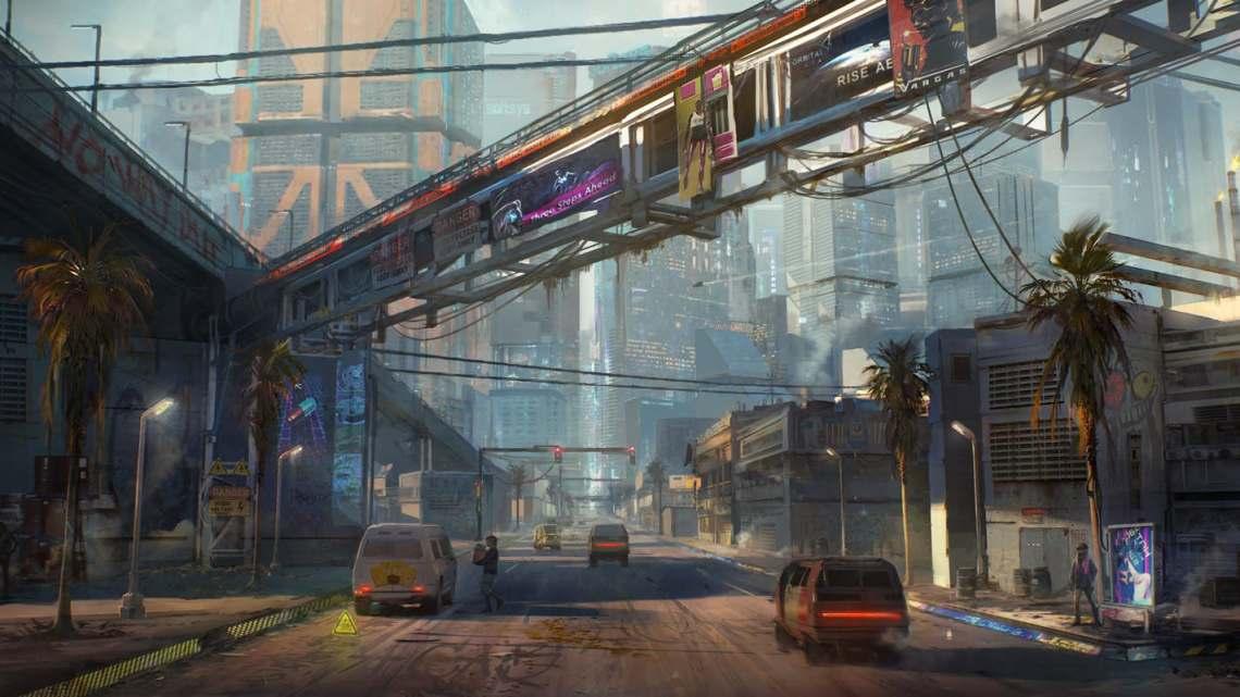 La facilidad para adquirir un arma en el mundo de Cyberpunk 2077