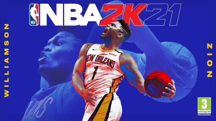 Zion Williamson será la portada de NBA 2K21 para PlayStation 5 y Xbox Series X