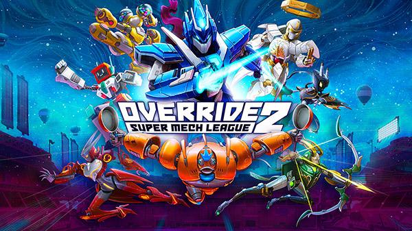 Arranca la BETA abierta de Override 2: Super Mech League en PS5, PS4 y PC