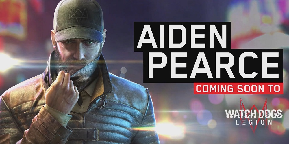 Aiden Pierce estará disponible en Watch Dogs Legion como DLC