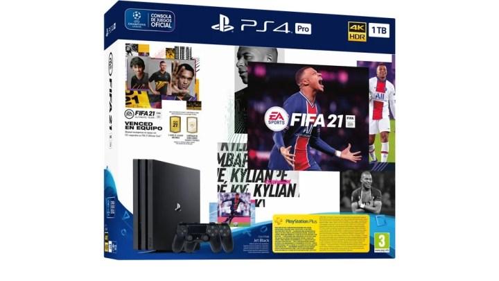 PS4 y PS4 Pro formarán pack con FIFA 21 el próximo 9 de octubre