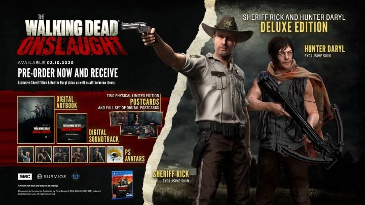 Avance distribuirá las ediciones físicas de The Walking Dead: Onslaught